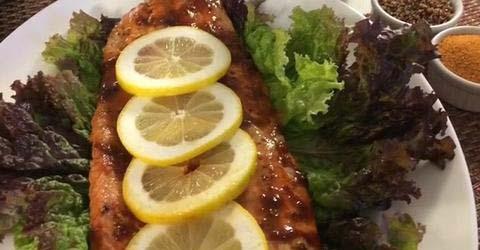 Bobby's BBQ Salmon