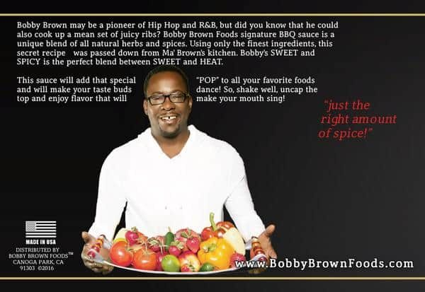 Bobby's Sweet & Spicy BBQ Sauce label