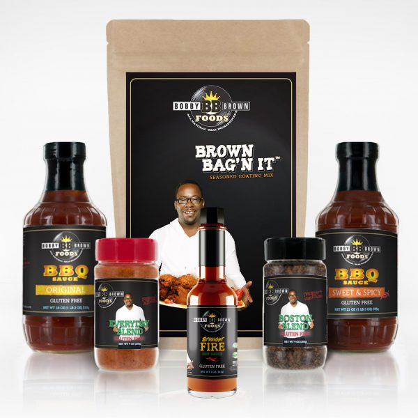 Singer Bobby Brown's Everything Pack | Bobby Brown Foods - All Products Deal | All Natural, Premium BBQ, Sauces & Seasonings